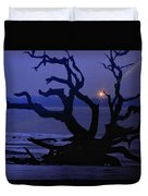 Beam Me Up To The Beach Duvet Cover