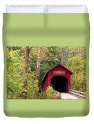 Bean Blossom Bridge II Duvet Cover