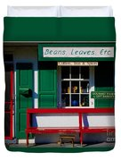 Beans, Leaves, Etc. Duvet Cover