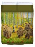Bear Family Duvet Cover