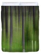 Bear Grass And Lodgepoles Duvet Cover
