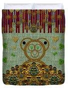 Bear In The Blueberry Wood Duvet Cover