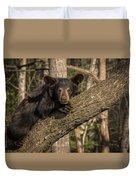 Bear In Tree Duvet Cover