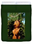 Bear In Woods Duvet Cover