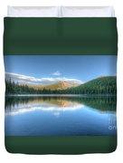 Bear Lake In Rocky Mountain National Park 2x1 Duvet Cover