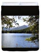 Bear Lake Rmnp Duvet Cover