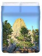 Bear Mountain Duvet Cover