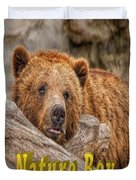 Bear Nature Boy Duvet Cover