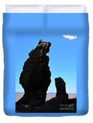 Bear Rock Duvet Cover