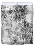 Bearded Man Duvet Cover