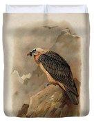 Bearded Vulture By Thorburn Duvet Cover