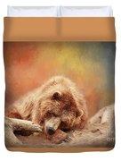 Bearly Asleep Duvet Cover