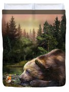 Bear's Eye View Duvet Cover