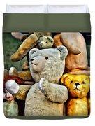 Bears For Sale Duvet Cover