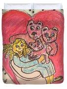 Bear's Love's Hugs Duvet Cover