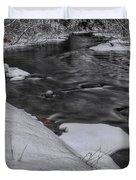 Bearskin Creek Riffles Duvet Cover