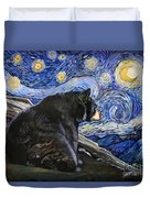 Beary Starry Nights Duvet Cover
