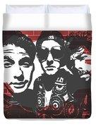 Beastie Boys Graffiti Tribute Duvet Cover