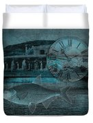 Beating The Blues Duvet Cover