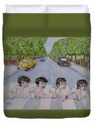 Beatles Abbey Road .... Babies Duvet Cover