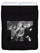 Beatles And Ed Sullivan Duvet Cover