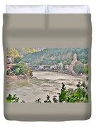 Beautiful Afternoon On The Ganges Duvet Cover