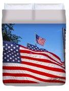 Beautiful American Flags Duvet Cover
