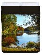 Willow Pond, Caleb Smith Preserve Duvet Cover