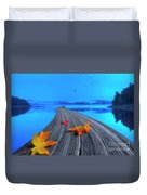 Beautiful Autumn Morning Duvet Cover