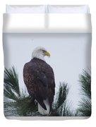 Beautiful Bald Eagle Duvet Cover