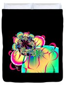 Beautiful Balloon Bouquet Fractal 57 Duvet Cover