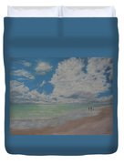 Beautiful Beach Day Duvet Cover