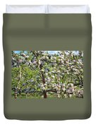 Beautiful Blossoms - Digital Art Duvet Cover by Carol Groenen