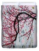 Beautiful Blossoms Duvet Cover