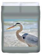Beautiful Blue On The Beach Duvet Cover