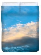 Beautiful Blue Skies Duvet Cover