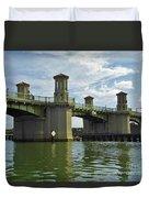 Beautiful Bridge Of Lions Duvet Cover