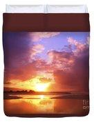 Beautiful Bright Sunset Duvet Cover