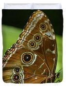 Beautiful Butterfly Wings Of Meadow Brown Duvet Cover