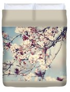 Beautiful Cherry Tree Blossom Duvet Cover
