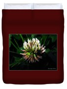 Beautiful Clover Blossom Duvet Cover