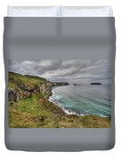 Beautiful Coast Of Northern Ireland Duvet Cover