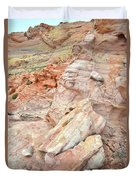 Beautiful Color In Wash 3 Of Valley Of Fire Duvet Cover