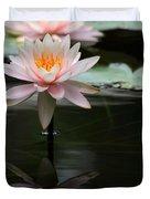 Beautiful Colorado Water Lilies Duvet Cover