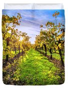 Beautiful Colors On The Vines Duvet Cover