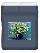 Beautiful Daisies  Duvet Cover by Patricia Awapara