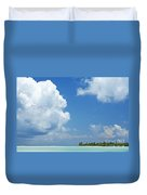 Beautiful Day In Tahiti Duvet Cover