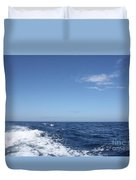 Beautiful Day On The Atlantic Ocean Duvet Cover