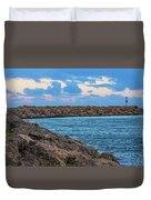 Beautiful Day Out Duvet Cover