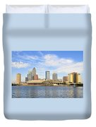 Beautiful Day Tampa Bay Duvet Cover